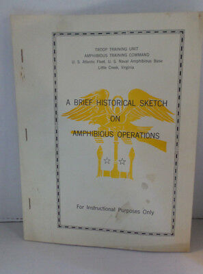 Brief Historical Sketch on Amphibious Operations US Naval Base Virginia 1948