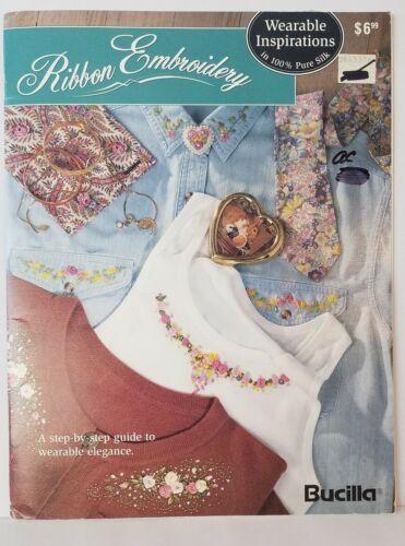 Bucilla Ribbon Embroidery Wearable Inspirations Book Leisure Arts