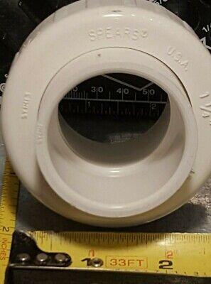 Spears 1-14 Slip X Slip Sch Schedule 40 Pvc1 Union Coupler New