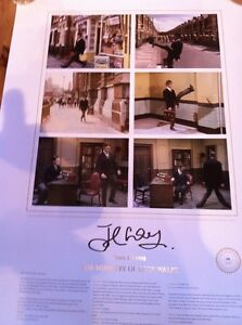 John-Cleese-signed-Monty-Python-Funny-Walks-Ltd-Ed-Litho-print-UACC-RD