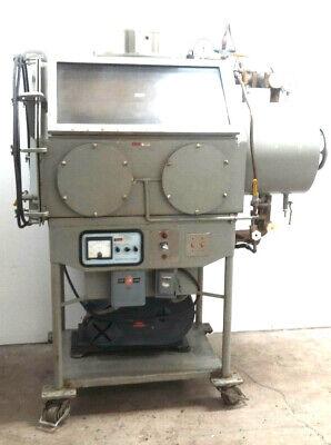 Blickman Glove Box Ile Vacuum Chamber With Welch Vacuum Pump 1397