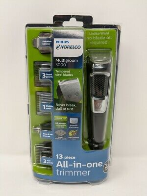 MG3750 Multigroom All-In-One Series 3000 Philips Norelco, 13 attachment trimmer