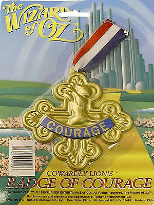 Wizard Of Oz - Cowardly Lion's Badge Of Courage