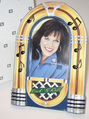JUKEBOX PICTURE FRAME Bubbler Classic Diner Style Great Father's Day Gift! NOS