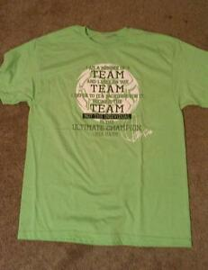 SOCCER-TEE-SHIRT-TEAM-QUOTE-BY-MIA-HAMM-LIME-GREEN-SHIRT-SIZE-large