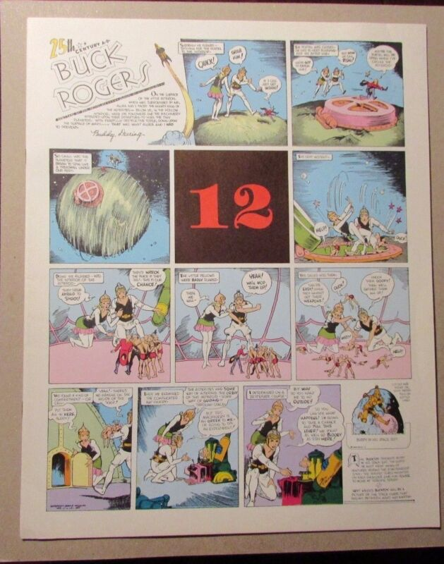 1981 BUCK ROGERS Club Anni Trenta #12 FVF Dick Calkins