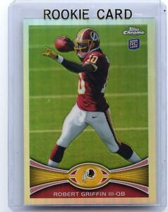 2012-TOPPS-CHROME-200-ROBERT-GRIFFIN-III-REFRACTOR-ROOKIE-CARD-RC-REDSKINS