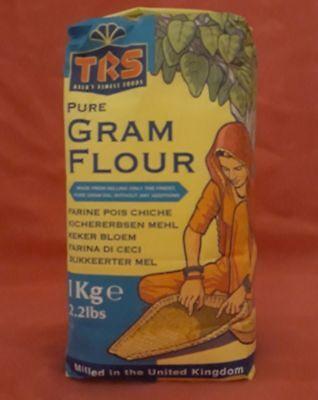 1 Kg Kichererbsenmehl TRS Kichererbsen Mehl Gram Flour  gebraucht kaufen  Solingen