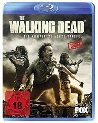 The Walking Dead Staffel 8 Blu-ray Uncut NEU OVP