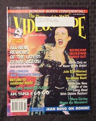 1999 VIDEOSCOPE Magazine #29 FN+ Scream Queens Halloween Trilogy ()