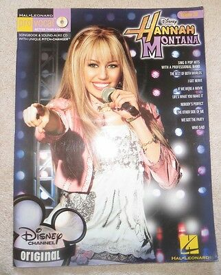 Hal Leonard Pro Vocal Disney Hannah Montana Vol. 20 (2007, CD / Paperback)