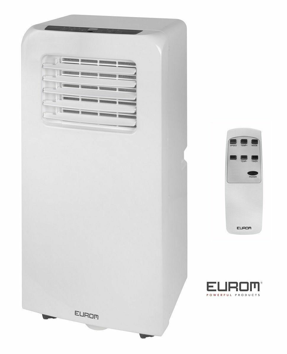 Eurom Pac 7.2 Mobile Klimaanlage für Büro,Wohnung,Camping,Wohnwagen mit 7000 BTU