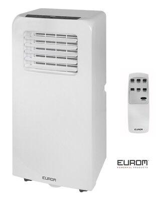 Mobile Klimaanlage Eurom Pac 7.2  Büro Wohnung Wohnwagen Camping 7000 BTU