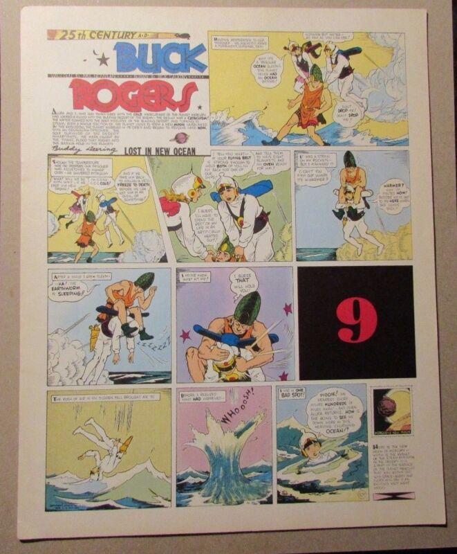 1981 BUCK ROGERS Club Anni Trenta #9 FVF Dick Calkins