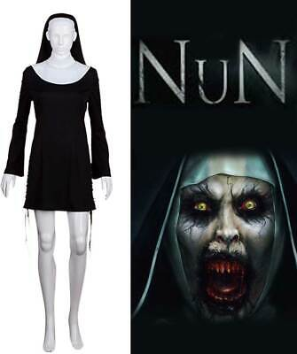 Women Black Sexy Dress Headpiece Naughty Nun Sister Cosplay Party Costume HC-009](Nun Head Piece)