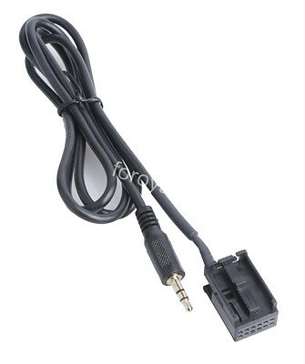 Ford Focus Mondeo Fiesta 6000CD Aux-in Input Adapter Cable iPod iPhone MP3 Lead