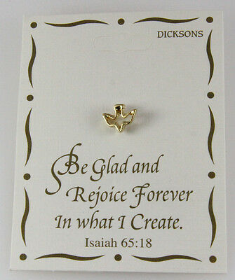Christian Pins (6030167 Holy Spirit Descending Dove Lapel Pin Brooch Tie Tack Christian)