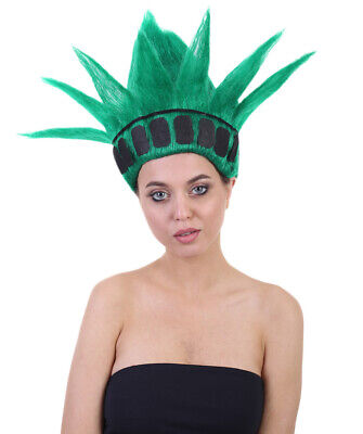 Green The Statue of Liberty Troll Wig Halloween Cosplay Party Fancy Hair HW-1478 - Green Troll Wig