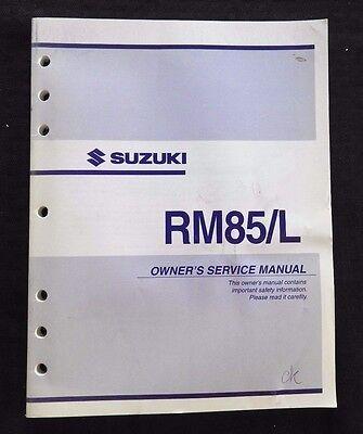 2009 suzuki rm85 k9 workshop service repair manual download