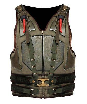 Men's Celebrity Looks The Dark Knight Rises Men's Synthetic Leather Bane Vest. ()