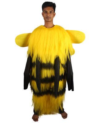 Yellow Halloween Costumes (Adult Men's BEE Costumes | Black & Yellow Halloween Costume)
