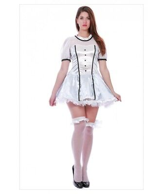 Sexy Womens Deluxe Alice in Wonderland Fancy Dress - Fancy Kleid Alice In Wonderland