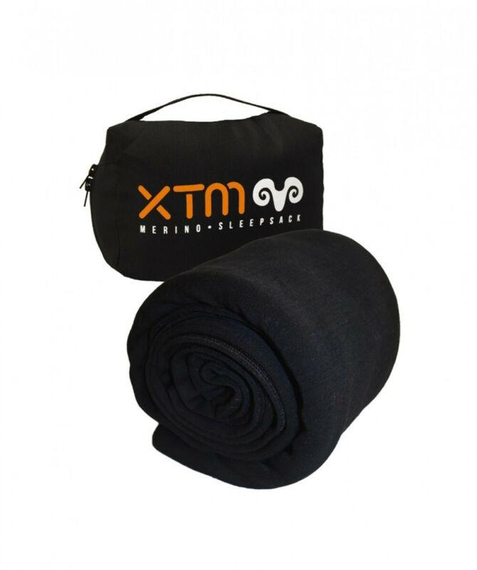 XTM Dreamliner 170 Merino Sleeping Bag Liner - Black