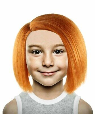 Kid Orange Straight Wig for Cosplay Curse of Chucky Party Fancy Costume HM-180K](Kids Bane Costume)