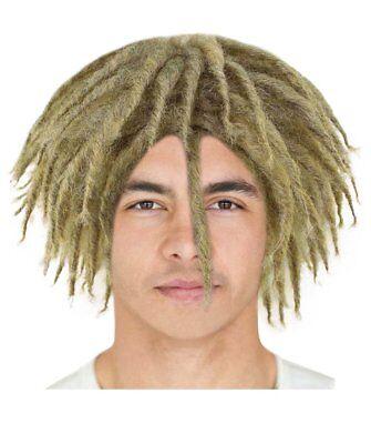 Blonde Dreadlock Wig Cosplay Lil Pump Halloween Party Fancy Costume Hair - Dreadlock Wig Halloween