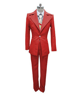 Multi color Men's Costume for Cosplay Singer Bowie Party Suit HC-DBC