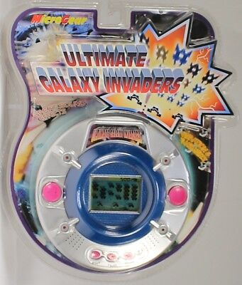 Electronic Game Ultimate Galaxy Invaders MicroGear 2003 RETRO handhld arcade  for sale  Shipping to Canada