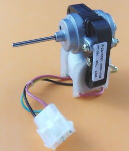 Wr60x10168 condenser fan motor for ge general electric for Ge refrigerator condenser fan motor not working