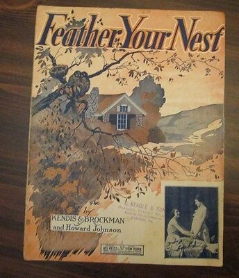 Feather Your Nest sheet music by Kendis & Brockman, Bowers & Sanders Corner Pic (Feather Bowers)