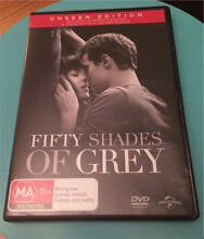Fifty Shades Of Grey DVD - BNWOP Tullamarine Hume Area Preview