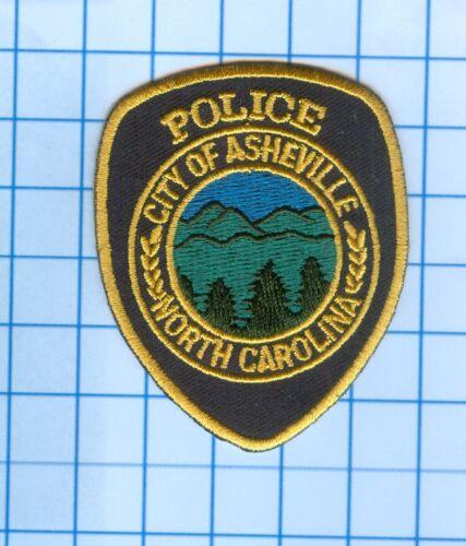 """Police Patch -  North Carolina - City of Asheville -  2 1/2 """""""
