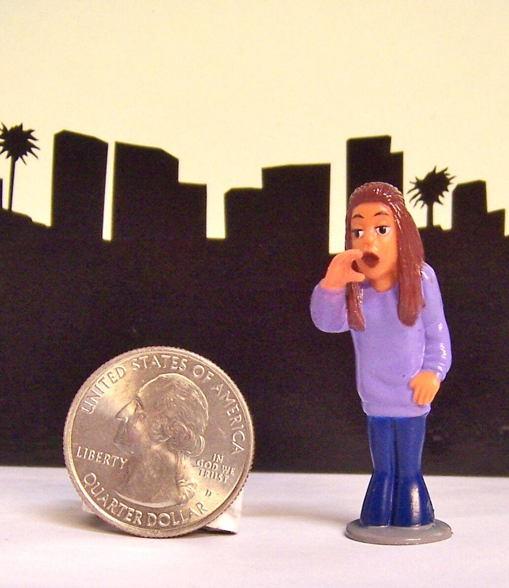 "NEW RARE Homies Series 6 BRUJA Girl Chola Woman 1.75/"" Figure Figurine"