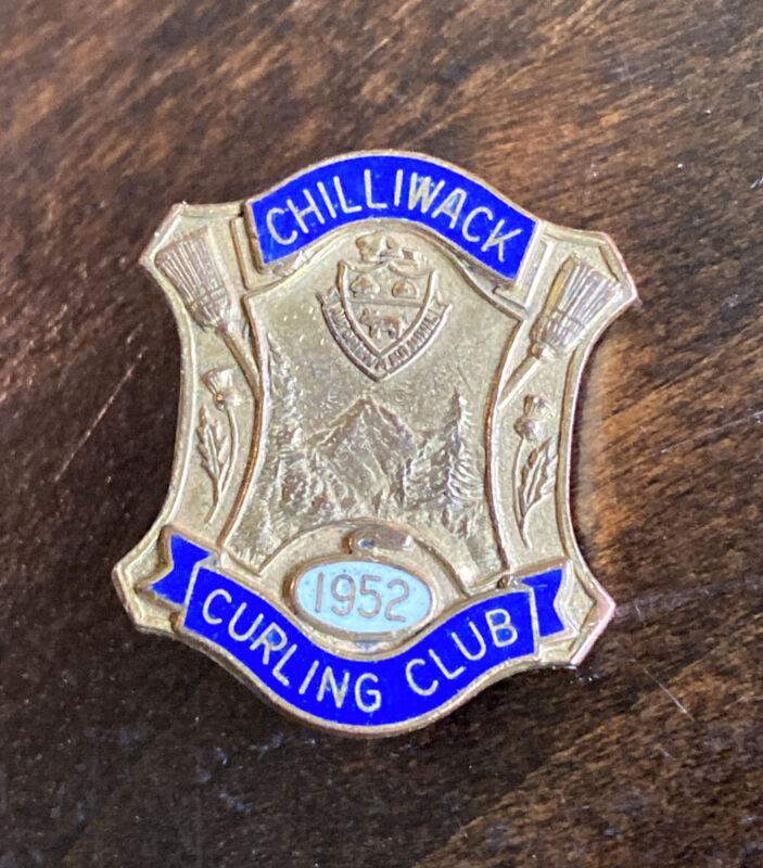 Vintage Chilliwack Curling Club 1952 British Columbia Canada