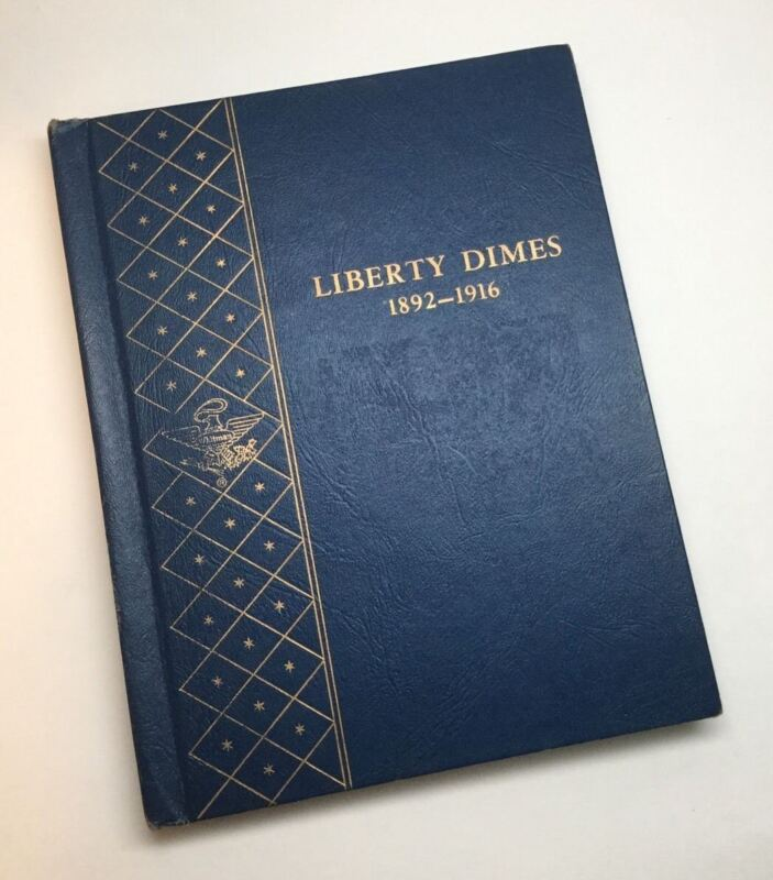 1892-1916 Liberty Barber Dimes In Whitman Book, No 1903-s Or 1913-s