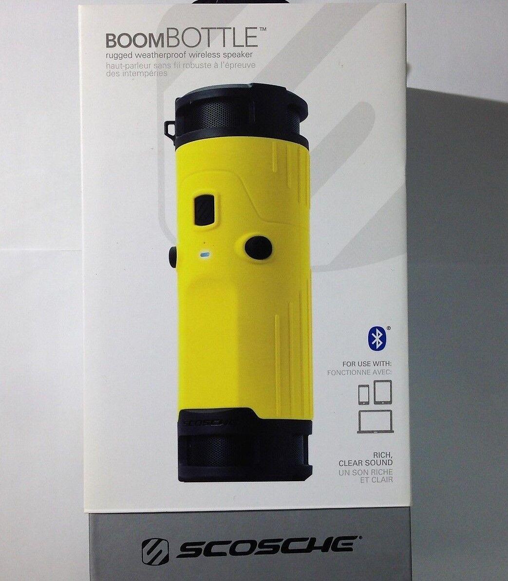 Boom Bottle Scosche BoomBottle  Bluetooth Weatherproof Wireless Rugged Speaker
