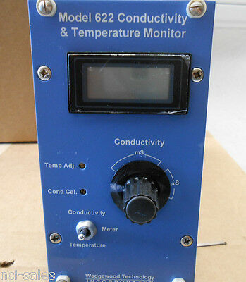 Wedgewood Technology Inc. Conductivity Temperature Monitor 622a7u---nn---