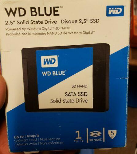 WD Blue 1TB 3D NAND SATA III 2.5 In. Internal SSD - New - $93.00