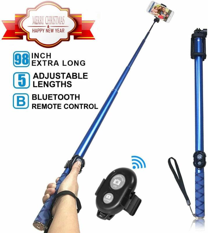 Long Selfie Stick,Extendable Foldable Selfie Stick with Wire