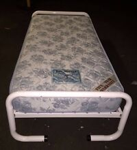Rod iron single bed frame only Petersham Marrickville Area Preview