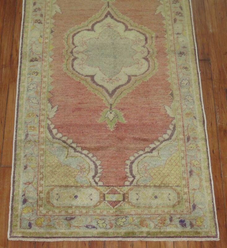 Vintage Turkish Oushak Ushak Rug Size 2