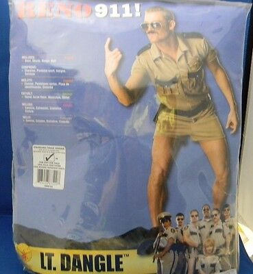 Reno 911! Lt. Dangle Costume