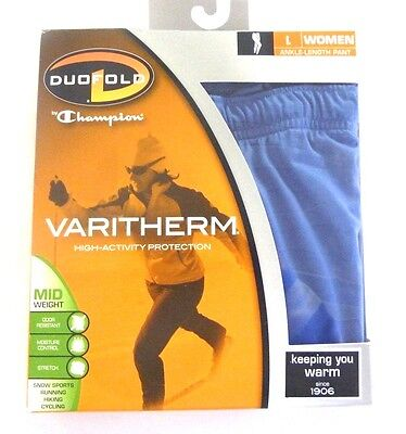 DUOFOLD, by Champion VARITHERM WOMENS, BASE LAYER THERMAL PANTS MIDWEIGHT, (Duofold Womens Thermal)