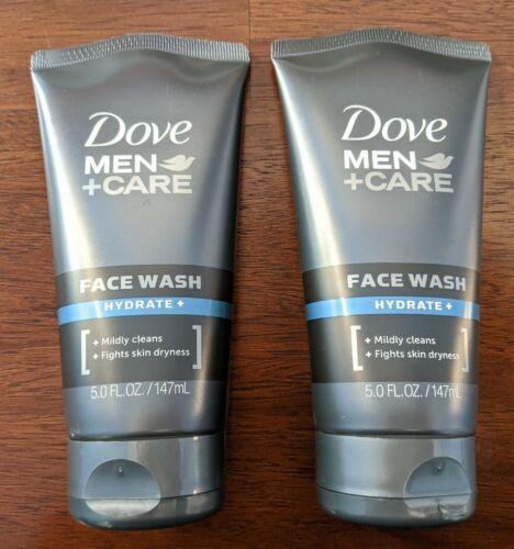 Dove Men + Care Face Wash, Hydrate, 5 Oz