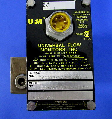 Ufm High Pressure Coolant Manifold Sensor Gdn-1x10gpm-n-f-p-5683-21l