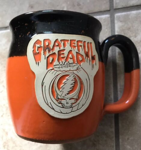 Grateful Dead Limited Edition Pottery Mug Sunset Hill Stoneware Steal Your Face