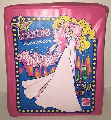 Barbie Fashion Case Closet 1977  No 1002 Doll Star Barbie Ken